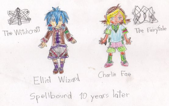 IN11 OC: Spellbound Academy (TYL): Leaders by Gintokichan