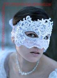 Lace Face by eyefeather-stock