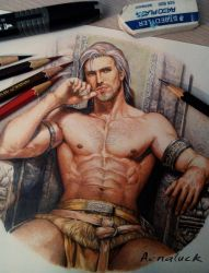 Colored pencils Artwork Master. by aenaluck
