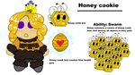 Honey cookie by Redpandaseas