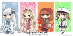 Point Adoptables : Seasons [200pts] last one! by AmiMochi