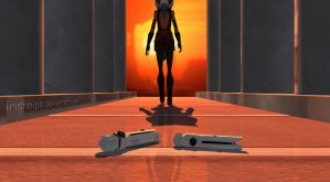 Ahsoka Tano: Leaving it Behind by Irishhips