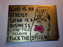 GOD IS AN ATHEIST by ROTTEN-88