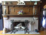Main hall fireplace by Android-shooter