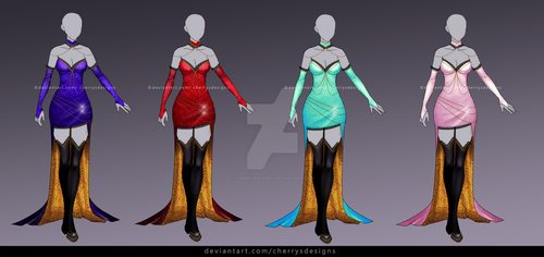 closed  (24H AUCTION) - Outfit Adopt 938 by CherrysDesigns
