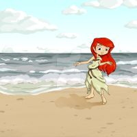 Washed Ashore by thedustyphoenix