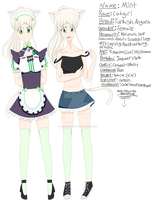 Mint Reference Sheet by LeviJaeger1