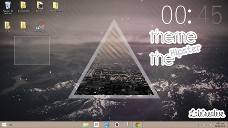Hipster Theme W8 by LaliCreative