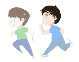 Run, run, Smosh. by SkyDrew