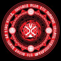 Kamen Rider Wizard Flame Style Circle by Isamu00