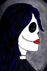 Doll Skull by angelacssdy
