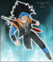 Gogeta and Future Trunks fusion: Gogetrunks by TheOnePhun211