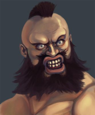 Zangief, bitches. by gaux-gaux