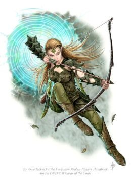 Elven Scout by Ironshod