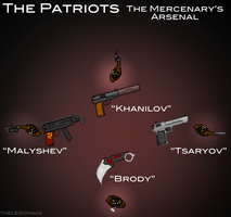 The Patriots: Brody's Arsenal by THELEGOMack