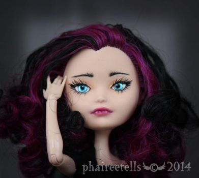 Ever  After high Raven custom repaint by phairee004