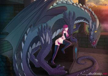 Joan and the dragon by johntaro