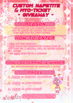 Napetite Giveaway~ by aceaeite