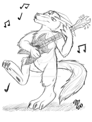 PC|Rocking Out Wolle by MistressDragoness