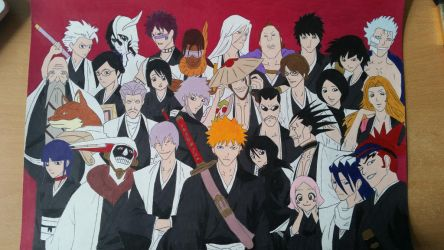 Bleach all captains and lieutenants by Dees4life