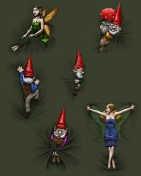 Fairies and Gnomes by sboterod