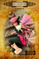 Steampunk Debut Banner 3 by Click-Art