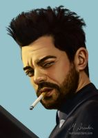 Jesse Custer by martianpictures