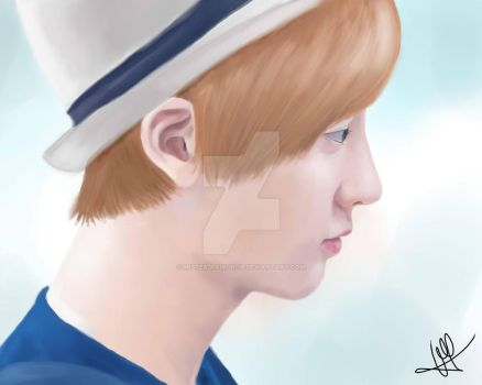 [DIGITAL PAINTING] ChanYeol 1 by Mister-Raindrop