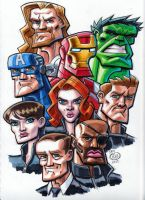 Avengers by Chad73