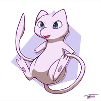 Day 02: Favorite Psychic - Mew by Fehlung