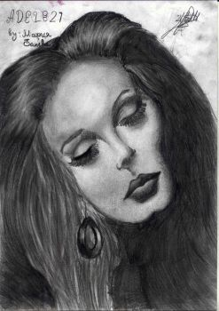 Another grey soul {Drawing with pencil} by Maria-234