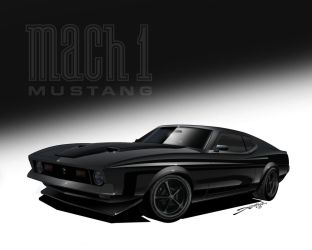 1971 Mach1 Mustang by LKY13