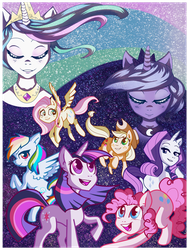 Celestial Alignment by SuperflatPsychosis