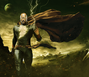 Black Adam by MessyPandas