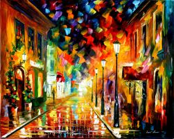 MOTION by Leonid Afremov by Leonidafremov