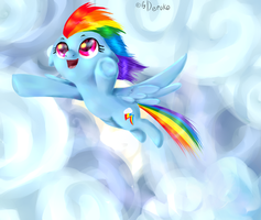 What happen if i be fly even higher? by Deroko