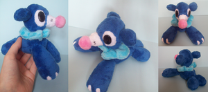 Popplio Plush by X--O