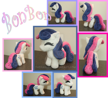 Bon Bon Plush MLP by TheHarley