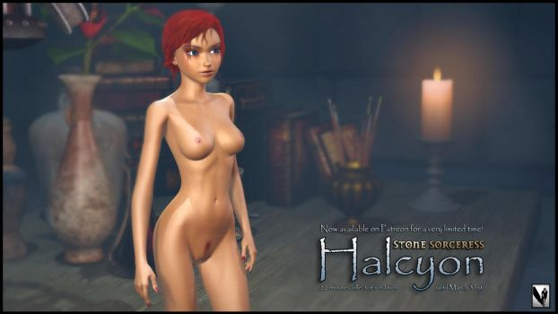 Halcyon - last episode of SS by StoneSorceress