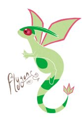 Paper Cutout Flygon by pdutogepi