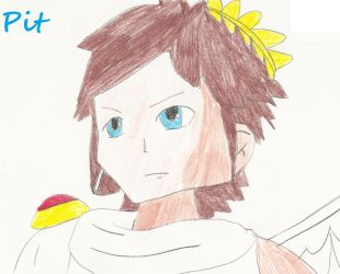 Kid Icarus Pit By CatCamellia