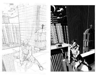 Bloodwatch Pencils and Inks 2 by ArtisticSchmidt