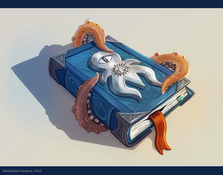 The Octopus Magic Book by Maximilien-Serpent