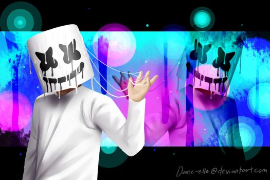 Melting Marshmello (Remake) by Dane-elle
