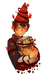 Over The Garden Wall by Ednut