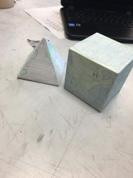 cube and pyramid #2 by ceciliasanders