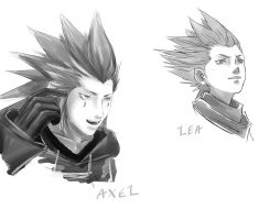 +Axel and Lea+ by Chinchikurin