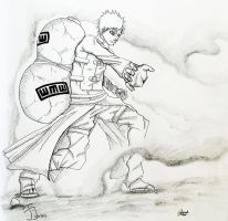 Gaara of the Sand by Internus