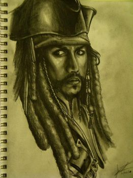 Captain Jack Sparrow by DaosX