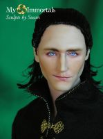 My Immortals Loki Head Sculpt by my-immortals